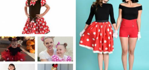 seleção de fotos de fantasia Minnie