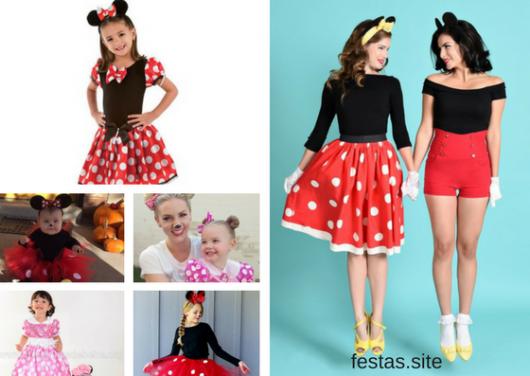 Fantasia Da Minnie 35 Modelos Lindos E Diferentes Para Crianças E