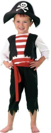 fantasia de pirata para menino com calça e colete