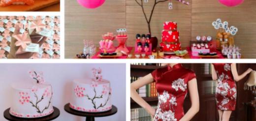 seleção de fotos de festa japonesa