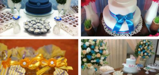 seleção de fotos de festa de 80 anos