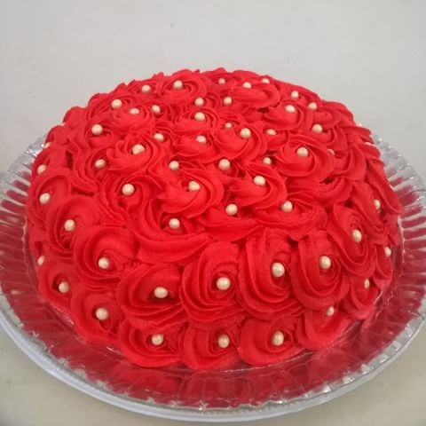 bolo vermelho