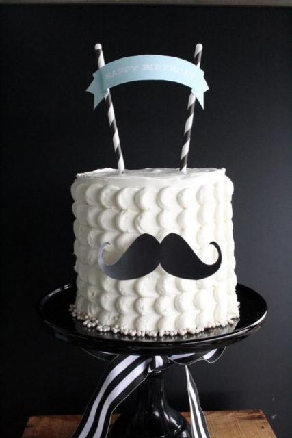 bolo masculino simples