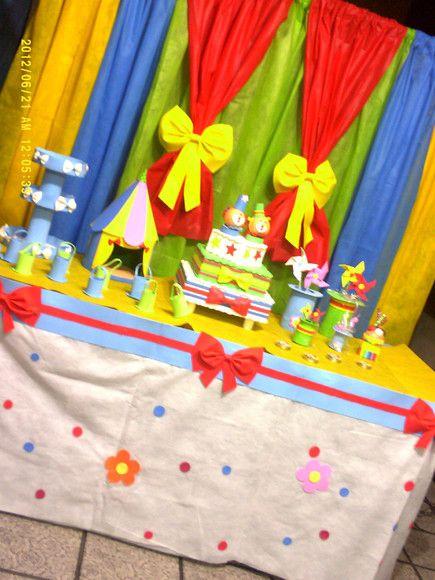 Cortina de TNT para festa infantil Fotos e passo a passo completo!