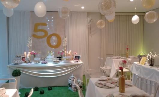 decoração festa simples