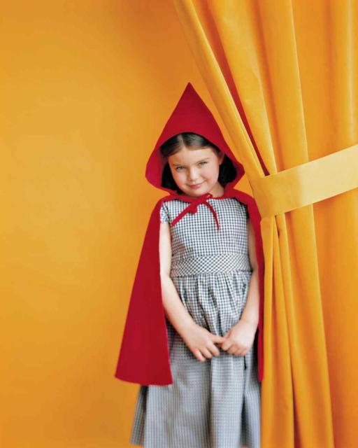 fantasia do chapeuzinho vermelho improvisada