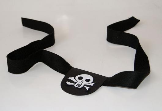 tapa-olho de pirata