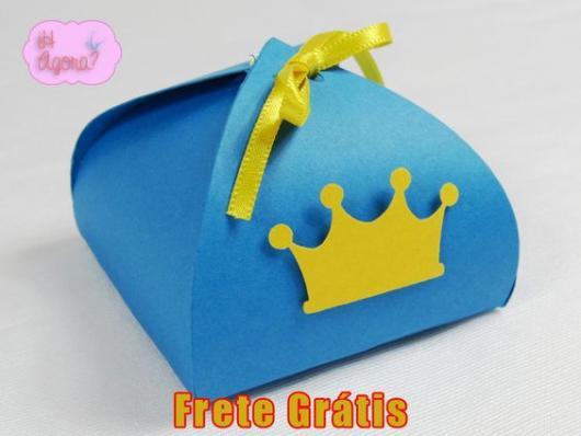 caixinha de EVA como lembrancinhas do Pequeno Príncipe