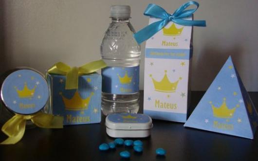 kit de lembrancinha do Pequeno Príncipe