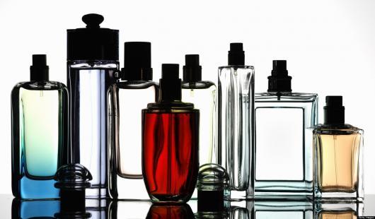 fracos de perfumes