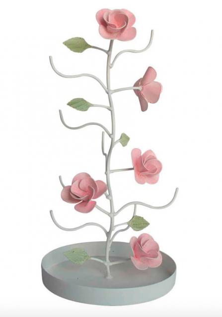 porta-acessórios de flores