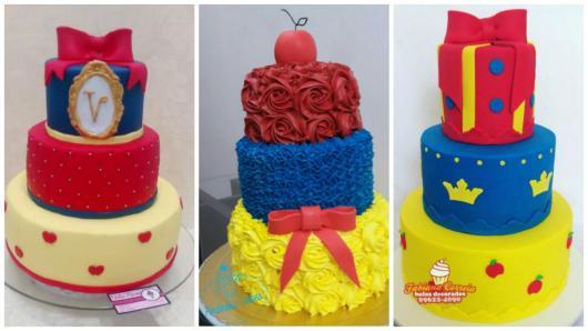 ideias bolos 3 andares