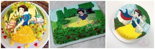 ideias para bolo com papel de arroz