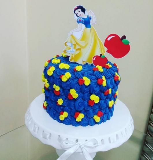 bolo simples glacê