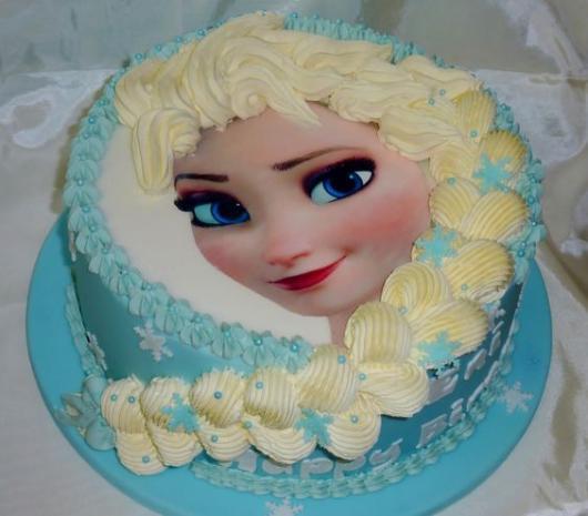 bolo com trança