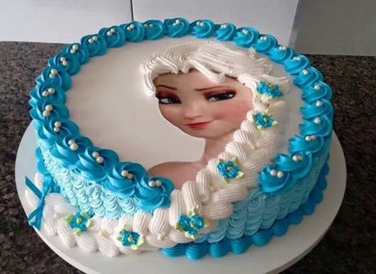 bolo papel de arroz com trança