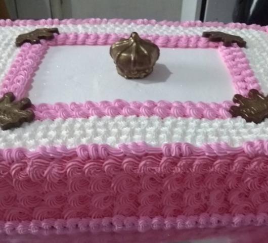 bolo simples princesa