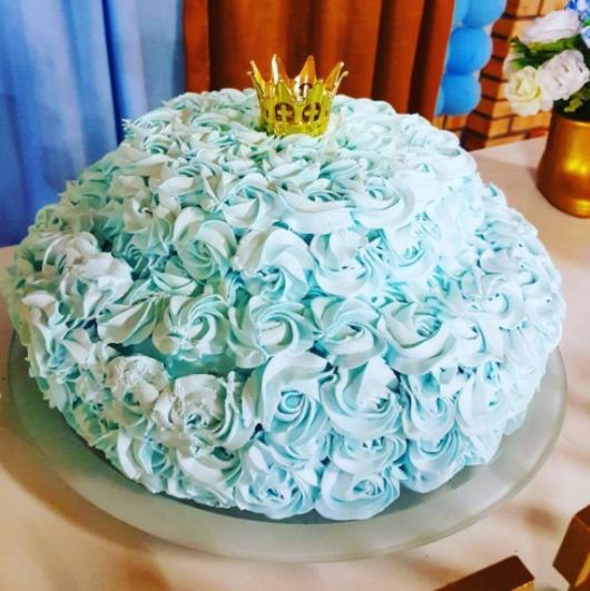 bolo azul andares