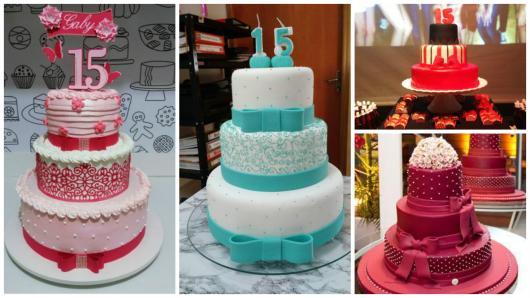 Festa de 15 anos dicas para fazer uma festa arrasadora bolo 3 andares thecheapjerseys Choice Image