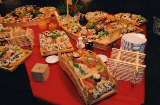 Festa de 15 anos dicas para fazer uma festa arrasadora for Mesa japonesa tradicional