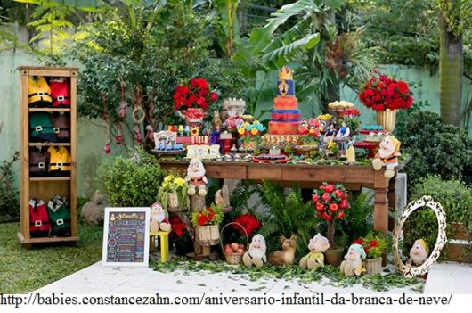 decoração festa jardim