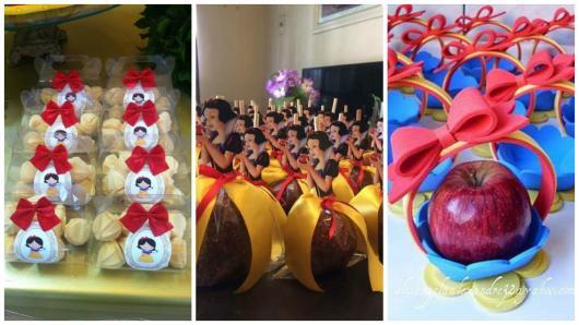 Festa Branca De Neve 68 Ideias Incríveis Para A Festa Infantil