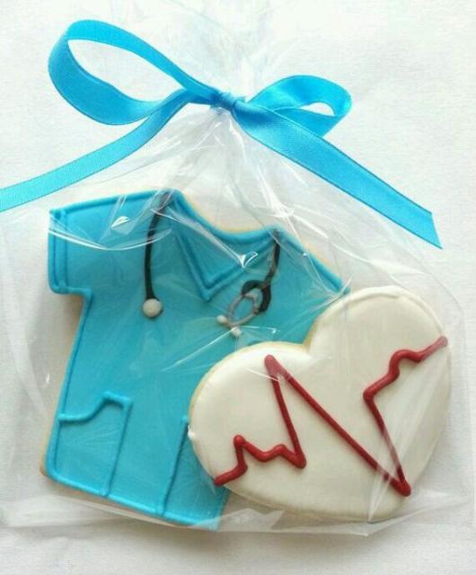 biscoitos decorados medicina