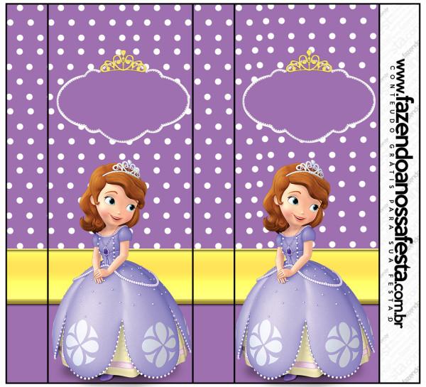 55 Lembrancinhas Princesa Sofia Criativas Como Fazer Em Casa