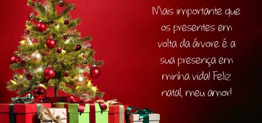 mensagem de amor natal