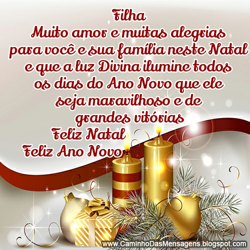 75 Mensagens De Natal Para Família Com Textos E Imagens Especiais