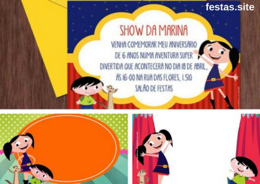 convites show da Luna