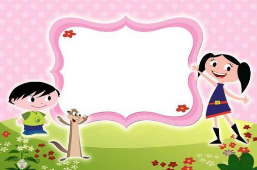 convite Show da Luna para imprimir em rosa