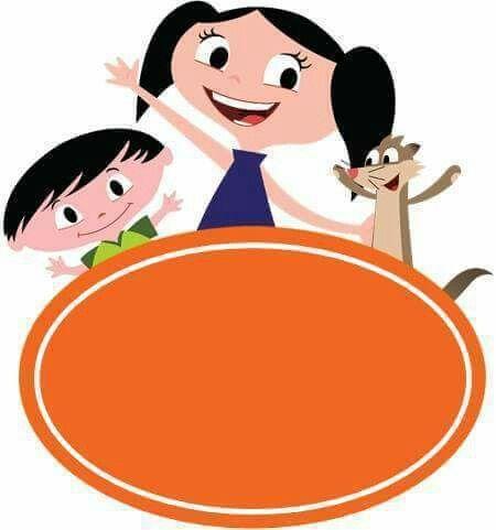 convite Show da Luna com espaço em laranja para as informações da festa