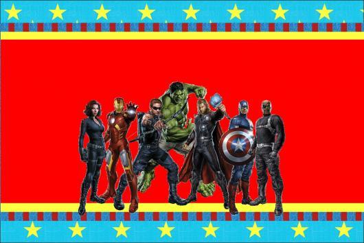 Convite dos Vingadores.