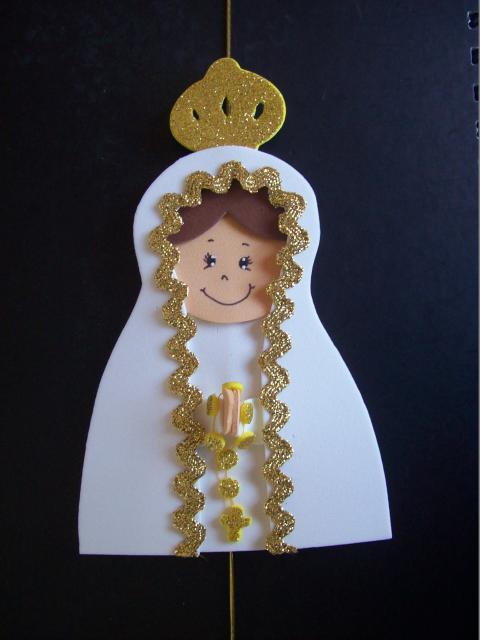 marcador de página de Nossa Senhora de Fátima