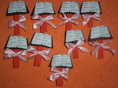 marcadores de livros como lembrancinhas evangélicas