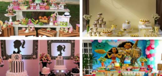 temas de festa infantil feminina