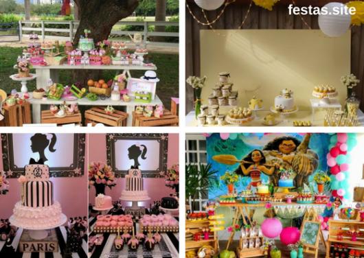 b68e166ce 35 Temas de Festa Infantil Feminina Apaixonantes para Você Fazer!