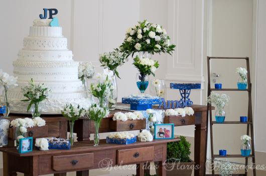 festa rústica azul