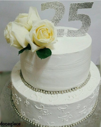 bolo de chantilly 2 andares