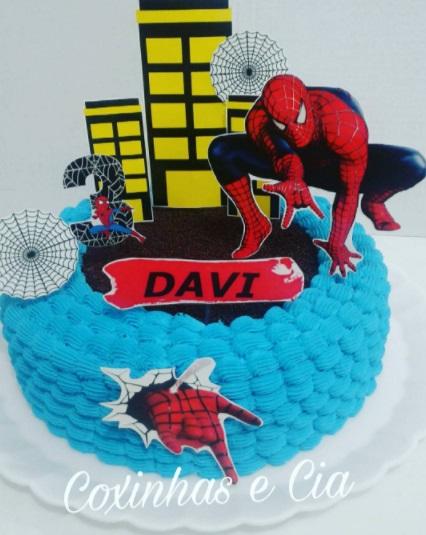 bolo azul