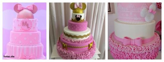 bolo falso decorado