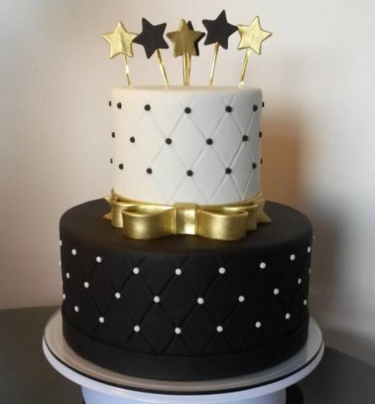 bolo estrelas