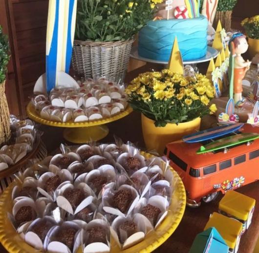 mesa de doces festa