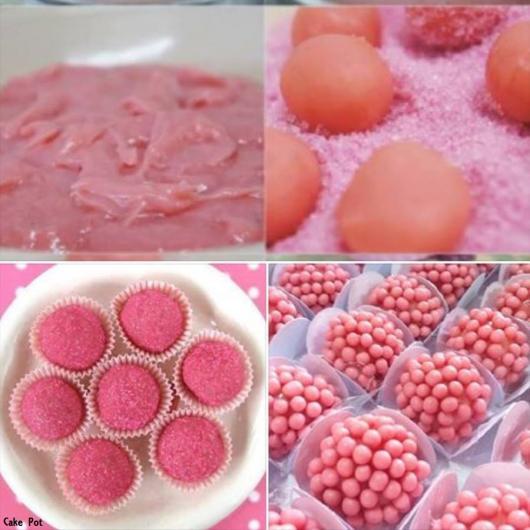 passo a passo brigadeiro de gelatina