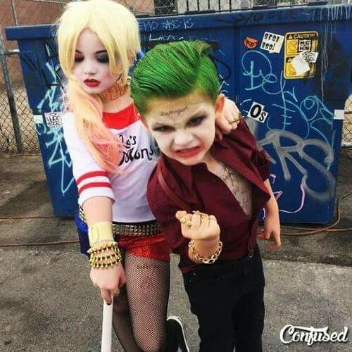 Jocker e Arlequina infantil