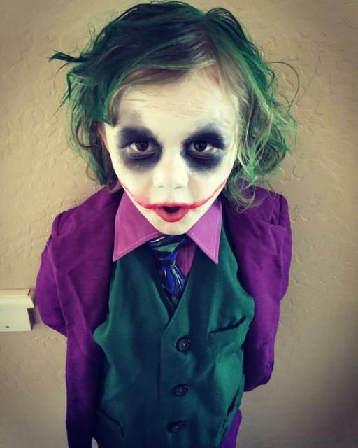 Coringa do Batman infantil