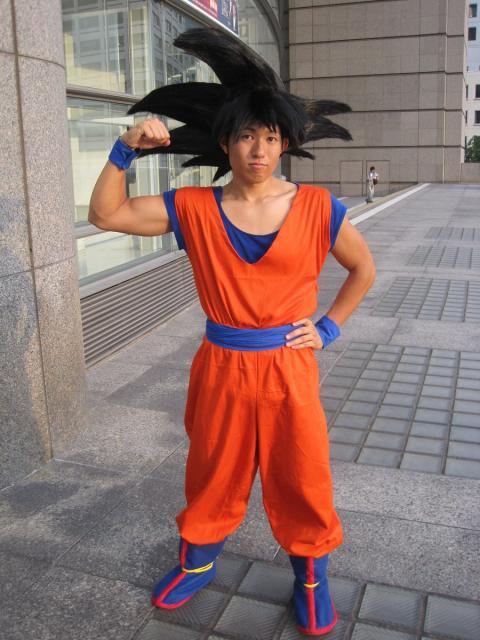 Fantasia Dragon Ball para homens Su Goku