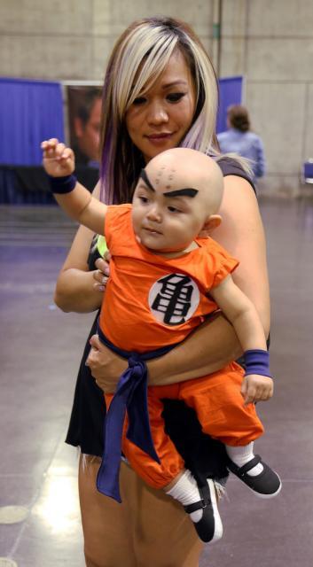 ideias de Fantasia Dragon Ball para bebês