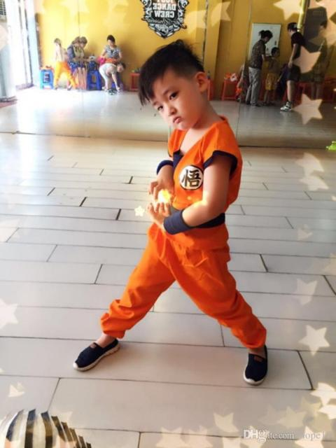 Fantasia Dragon Ball para festa infantil
